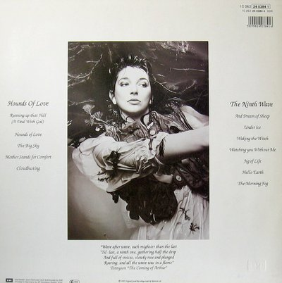 Kate Bush-Hounds of Love Cover Back-LP