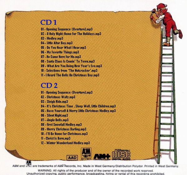 Carpenters An Old Fashioned Christmas Cd