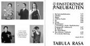 Einstürzende Neubauten-Tabula Rasa-Booklet