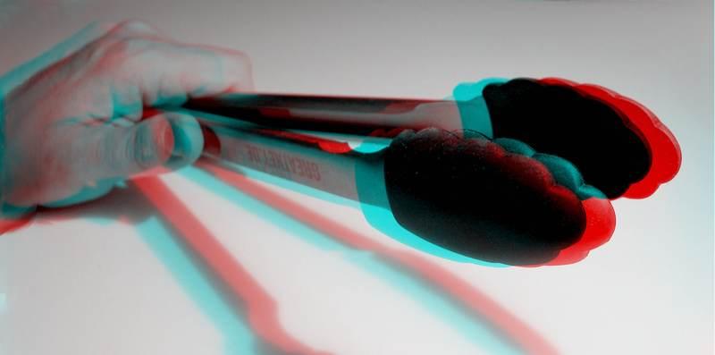Grillzange-3D