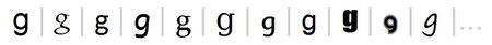 fonts-buchstabe-g