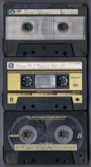 Kassetten-Maxell-Sony-80er