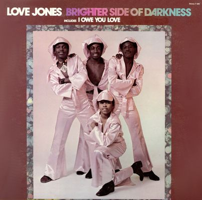 Brighter Side of Darkness-Love Jones Cover Front LP