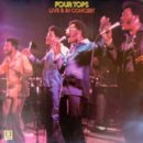 Four Tops-Live & In Concert_Cover front LP_